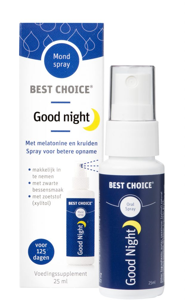 Best Choice Good Night met melatonine
