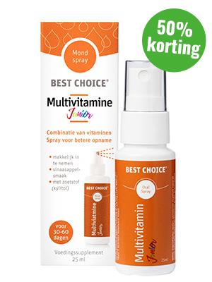 Multivitamine Spray Junior - Best Choice vitaminespray