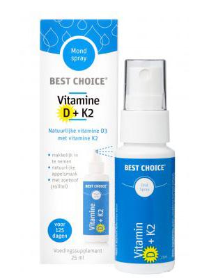 Best Choice Vitamine D+K2 - vitaminespray