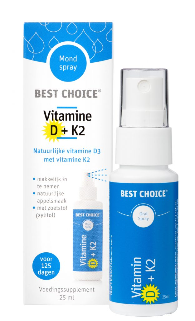 Best Choice Vitamine D+K2
